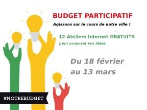 ateliers budget participatif