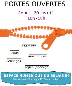 Portes ouvertes de l'@nnexe le jeudi 30 avril 2015